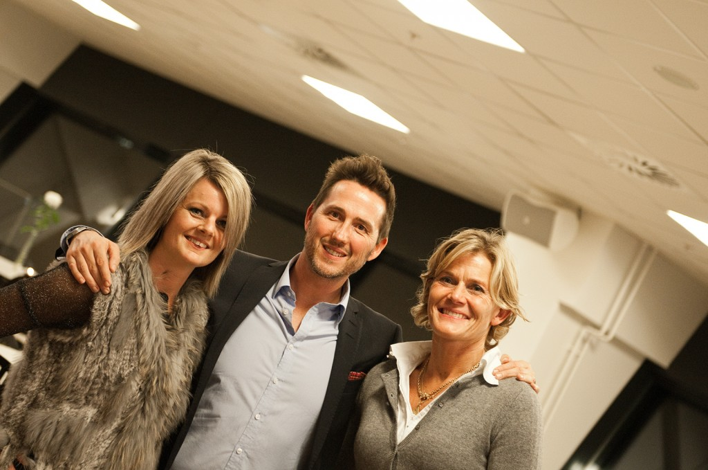 Anne Mette Hede Jensen, Steen Lund og Charlotte Bøving